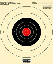 B-16 targets - 25 Yard Slow Fire Pistol Target (100) Tagboard w/Red Center