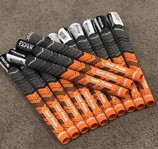 MCC+ 4 Golf Pride MCC Plus 4 Std Orange 60R Grips Reduced Taper *Genuine* 13 Pcs