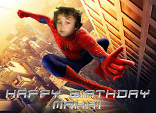 Spider-Man Spiderman Homecoming Personalised Photo Birthday Greetings Card