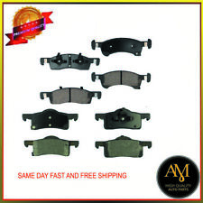 Brake Pads Full Set Front & Rear Fits Ford Expedition, Lincoln Navigator