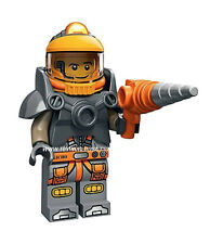 Lego Mini Figure #71007 #6 SPACE MINER Series12 Includes poster & Online Code