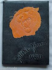 1950 GALLUP HIGH SCHOOL YEARBOOK, GALLUP, NEW MEXICO  ZILL HO ZHUNI