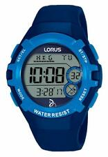 Lorus Unisex Digital Watch With Blue Silicone Strap R2391LX9 RRP £29.99