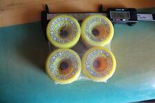 Powell Peralta Street Bones 57mm 90a Neon W4 Vintage Set of 4 SKATEBOARD WHEELS