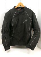 Teknic Women's Armored Motorcycle Jacket Black - Size 12