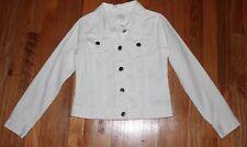 White Denim Jean Jacket Youth Size 10-12 TCP
