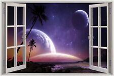 3D a buon mercato Finestra Vista Fantasy SEA WORLD Wall Sticker Murale Art Decalcomania 61