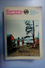 Camping Wegweiser der DDR ~ Beschreibung der Plätze ~Kleine Karte liegt bei