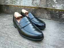 CROCKETT & JONES LOAFERS – BLACK - UK 8.5 – POOLE – EXCELLENT CONDITION