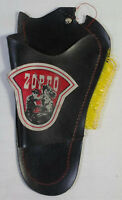 GREEK VTG 80's ZORRO GUN HOLSTER FOR CAP GUN KIDS COSTUME ACCESSORY DAMAGED