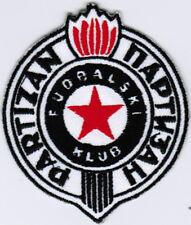 FK Fudbalski klub Partizan Serbia Football Soccer Patch