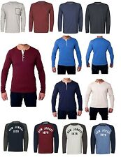 Unbranded Henley T-Shirts for Men Stretch