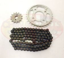 Heavy Duty Cadena & Sprockets Set Para zf250fb Cruiser Moto 253fmm