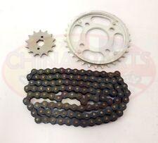 Heavy Duty Chain & Sprockets Set for Lifan LF250-4 Motorcycle