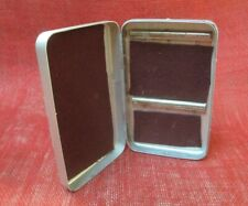 1 Vintage Perrine, Sterling Quality, Aluminum Fly Box, 4 X 6, Nice Straight Box