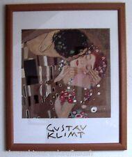 Gustav Klimt Wandbild DER KUSS Fotokopie 68 x 56 cm