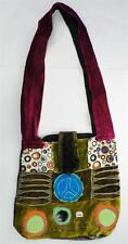 T418 FASHION TRENDY SHOULDER STRAP COTTON BAG  MADE IN NEPAL
