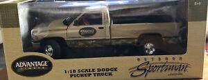 Ertl Advantage Timber 1;18 Dodge Pickup Truck Doors Hood Open New In box