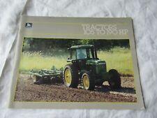 John Deere 4050 4250 4450 4650 4850 tractor brochure