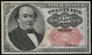 """1874 """"Fifth Issue """" .25 Cent Fractional Note """"XF"""" *Free S/H After 1st Item*"""
