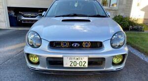 JDM 00-03 Subaru Impreza WRX STi v.7 (Bugeye) OEM HID Headlights RH LH GDA GDB