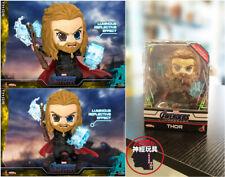 HOT TOYS COSBABY COSB652 Avengers 4:Endgame Thor Stormbreaker & Mjolnir Figure