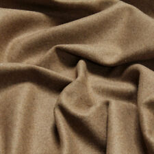 Stoff Polyester Wolle Flanell camel angeraut blickdicht weich Decke