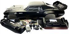Arrma FELONY 6s - Body Shell (BLACK Resto-Mod muscle Street Bash cover ARA7617V2