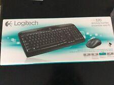Logitech MK320 Desktop Wireless Keyboard Mouse Combo Brand New