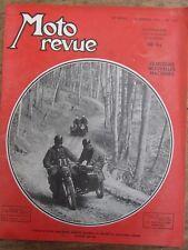 ANCIENNE REVUE MOTO REVUE N° 1170 JANVIER 1954 SIDE CAR