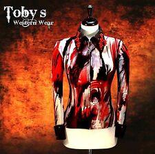2X-LARGE Western Showmanship Pleasure Horsemanship Show Jacket Shirt Rodeo Queen