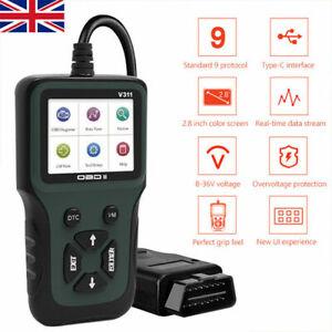 Volvo C70 Fault Code Reader Kit OBD2 Car Diagnostic Scanner Reset Tool V311 New