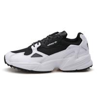 Adidas Original Womens Mens Falcon Trail Shoes Sneakers - Black White / EF9024