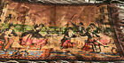 Vintage Woven Tapestry Spanish Courtyard Dancers  EUC (P)