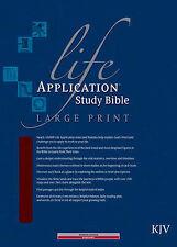 Life Application Study Bible KJV Large Print by Tyndale House Publishers
