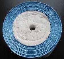 Largeur de rouleau 25yds 12mm lumière baby blue satin recto ruban légère 2nds