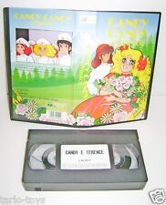 CANDY CANDY e TERENCE 1994 A&S italy  edizioni vhs movie videocassetta