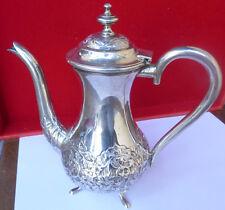 Kanne Silberkanne Moccakanne 900 er Silber SSJ Kaffeekanne