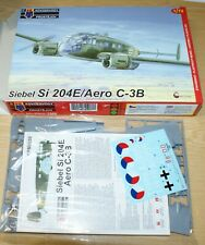 Siebel Si 204E / Aero C-3B (3x camo) in 1/72 von KPM