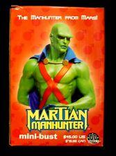 DC Comics JLA Martian Manhunter Bust Statue  New .