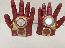 Marvel Iron Man gloves with light and sound Used