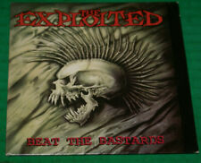 The Exploited Beat The Bastards Rare Cardvoard Flat CD Promo 1996 Sub Pop Oop