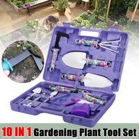 10X Gartenwerkzeug Gartengeräte Gartenset Regenmesser Garten Pflege Werkzeug