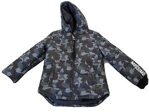 Boys Mossimo Puffer Rain Jacket Size 7