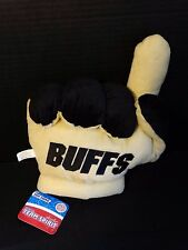 University of Colorado CU Buffs #1 Fan Glove Finger ~ Plush Team Spirit ~ NCAA