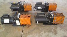 Lot Of 4 Alcatel Vacuum Pump Franklin Electric 12 Amp 34 Hp Motor As Is