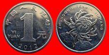 1 YUAN 2012 SIN CIRCULAR CHINA 0822SC