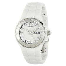 TECHNOMARINE 110023C WOMEN'S DIAMOND CRUISE WHITE CERAMIC  WATCH