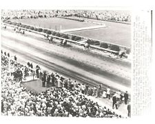 """1952 - BLUE MAN winning the Preakness Stakes - 10"""" x 8"""""""