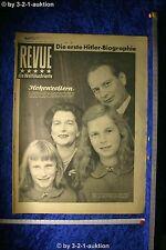 Revue Illustrierte Nr. 39 1952 27.9.52 Hohenzollern Geburtstagszeitung